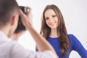 Your Headshot Photographer with smiling woman